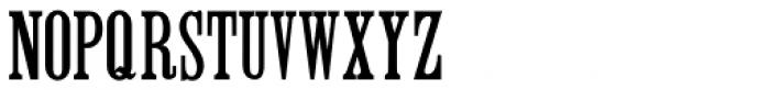 Roman Wood Type JNL Font LOWERCASE