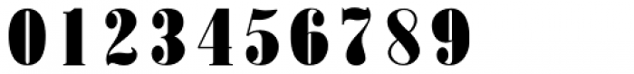 Roman X Expanded Font OTHER CHARS