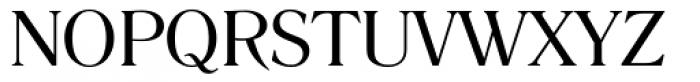 Romana Book Font UPPERCASE