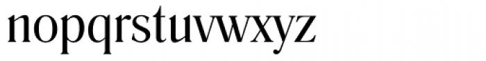 Romana Book Font LOWERCASE