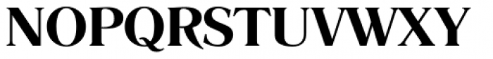 Romana DemiBold Font UPPERCASE