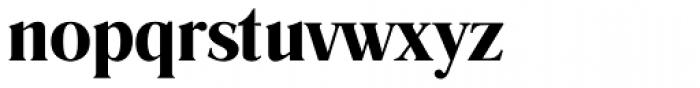 Romana DemiBold Font LOWERCASE