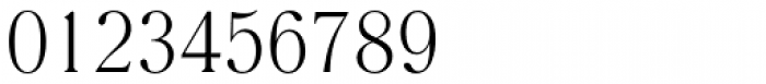 Romana EF Light Font OTHER CHARS