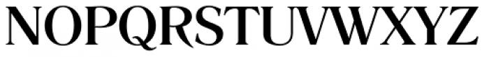 Romana EF Medium Font UPPERCASE