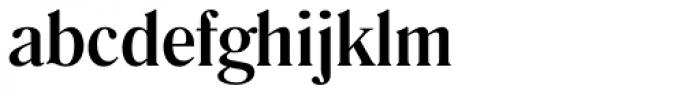 Romana EF Medium Font LOWERCASE
