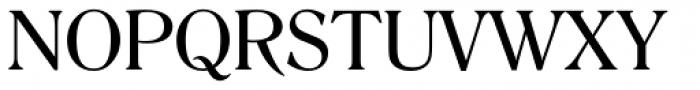 Romana Font UPPERCASE