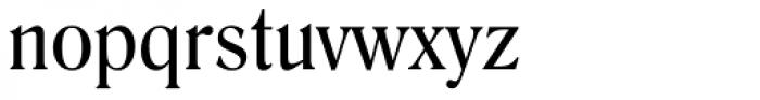 Romana Font LOWERCASE