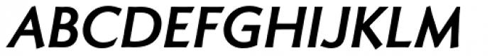 Romanica Bold Italic Font UPPERCASE