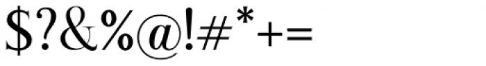 Romanson Regular Font OTHER CHARS