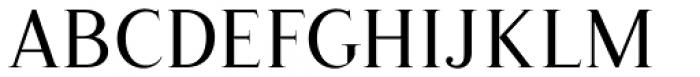 Romanson Regular Font UPPERCASE
