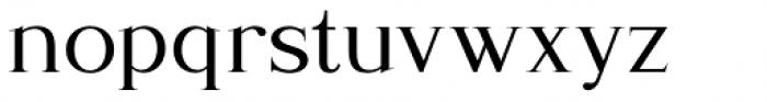 Romanson Regular Font LOWERCASE