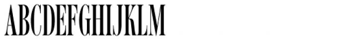 Romantica Pro ExtraCondensed Font UPPERCASE