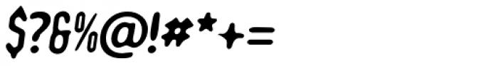 Romantico Italic Font OTHER CHARS