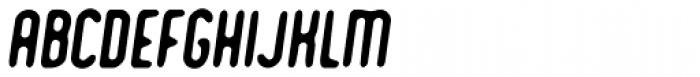 Romantico Italic Font UPPERCASE