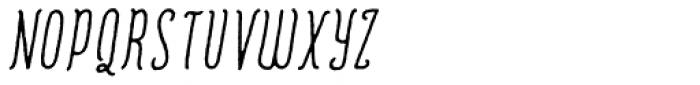 Romantisk  Font UPPERCASE