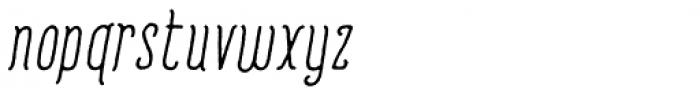 Romantisk  Font LOWERCASE
