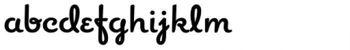 Romany Bold Font LOWERCASE