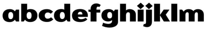 Romb Font LOWERCASE