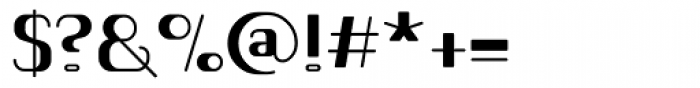 Romero Bold Font OTHER CHARS