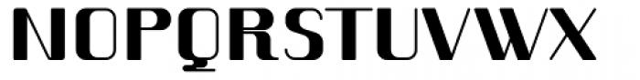 Romero Heavy Font UPPERCASE