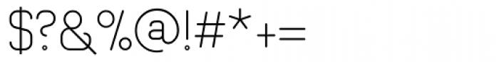 Romero Light Font OTHER CHARS