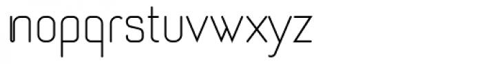 Romero Light Font LOWERCASE