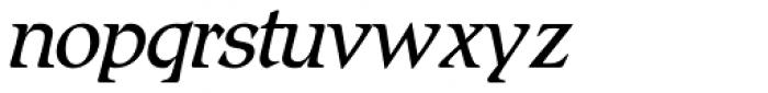 Romic SH Light Italic Font LOWERCASE
