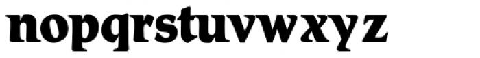 Romic SH XBold Font LOWERCASE