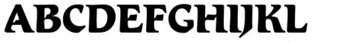 Romic Std ExtraBold Font UPPERCASE