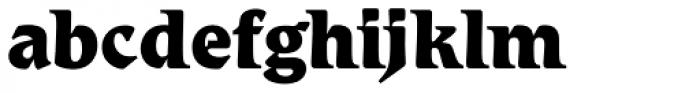 Romic Std ExtraBold Font LOWERCASE