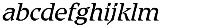 Romic Std Light Italic Font LOWERCASE