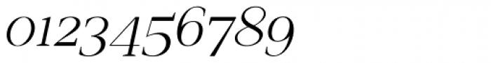 Romina extralight Italic Font OTHER CHARS