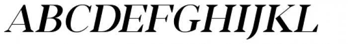 Romina medium italic Font UPPERCASE