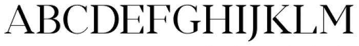Romina regular Font UPPERCASE