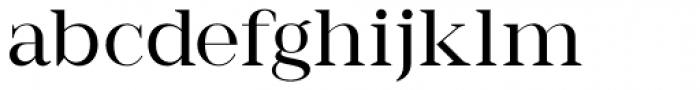 Romina regular Font LOWERCASE