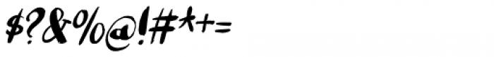 Romkugle Italic Font OTHER CHARS