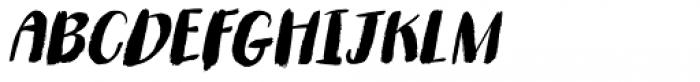 Romkugle Italic Font UPPERCASE