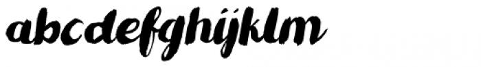 Romkugle Italic Font LOWERCASE