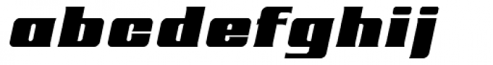 Roncial Ultra Italic Font LOWERCASE