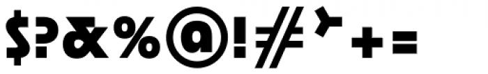 Rondana Heavy Font OTHER CHARS