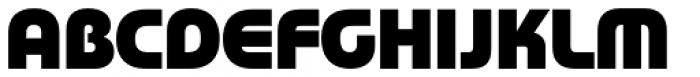 Rondana Heavy Font UPPERCASE