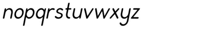 Rondell Italic Font LOWERCASE