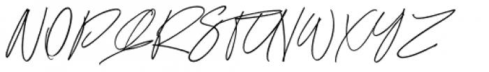 Ronet Alternative Font UPPERCASE