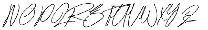 Ronet Regular Font UPPERCASE