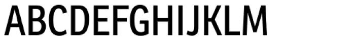 Ronnia Cond Regular Font UPPERCASE