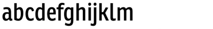 Ronnia Cond Regular Font LOWERCASE