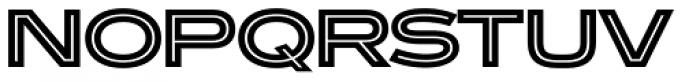 Ronsard Crystal Font UPPERCASE