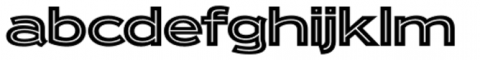 Ronsard Crystal Font LOWERCASE