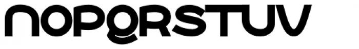 Roona Sans Black Font UPPERCASE