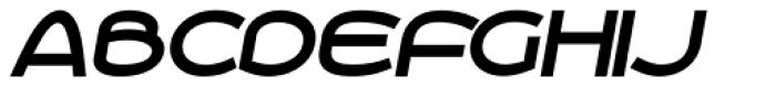 Roona Sans Bold Italic Font UPPERCASE